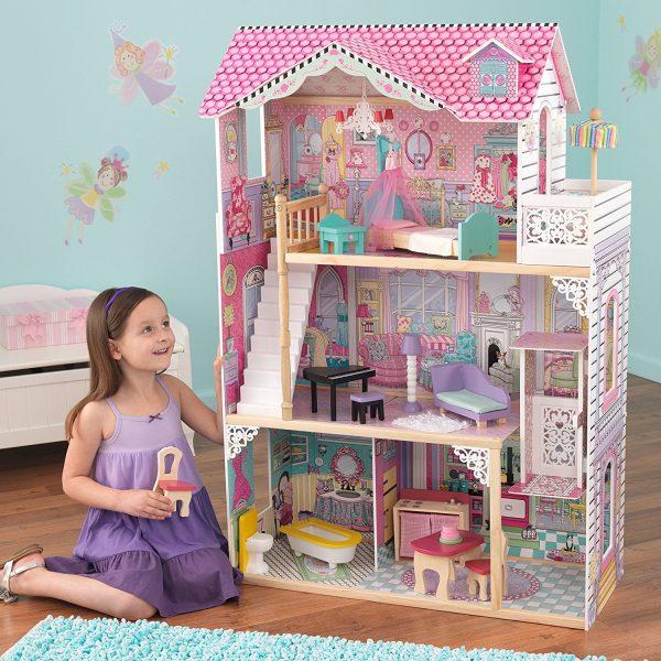 Casas De Muñecas Para Niñas 2018 19 Con Muñeca Incluida