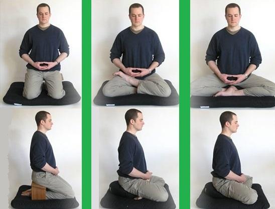 Posturas meditacion