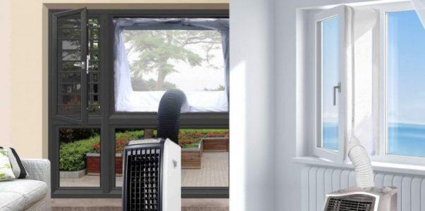 como instalar aire acondicionado portatil